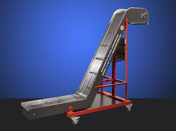 Magnetic slide conveyor | Goudsmit Magnetics