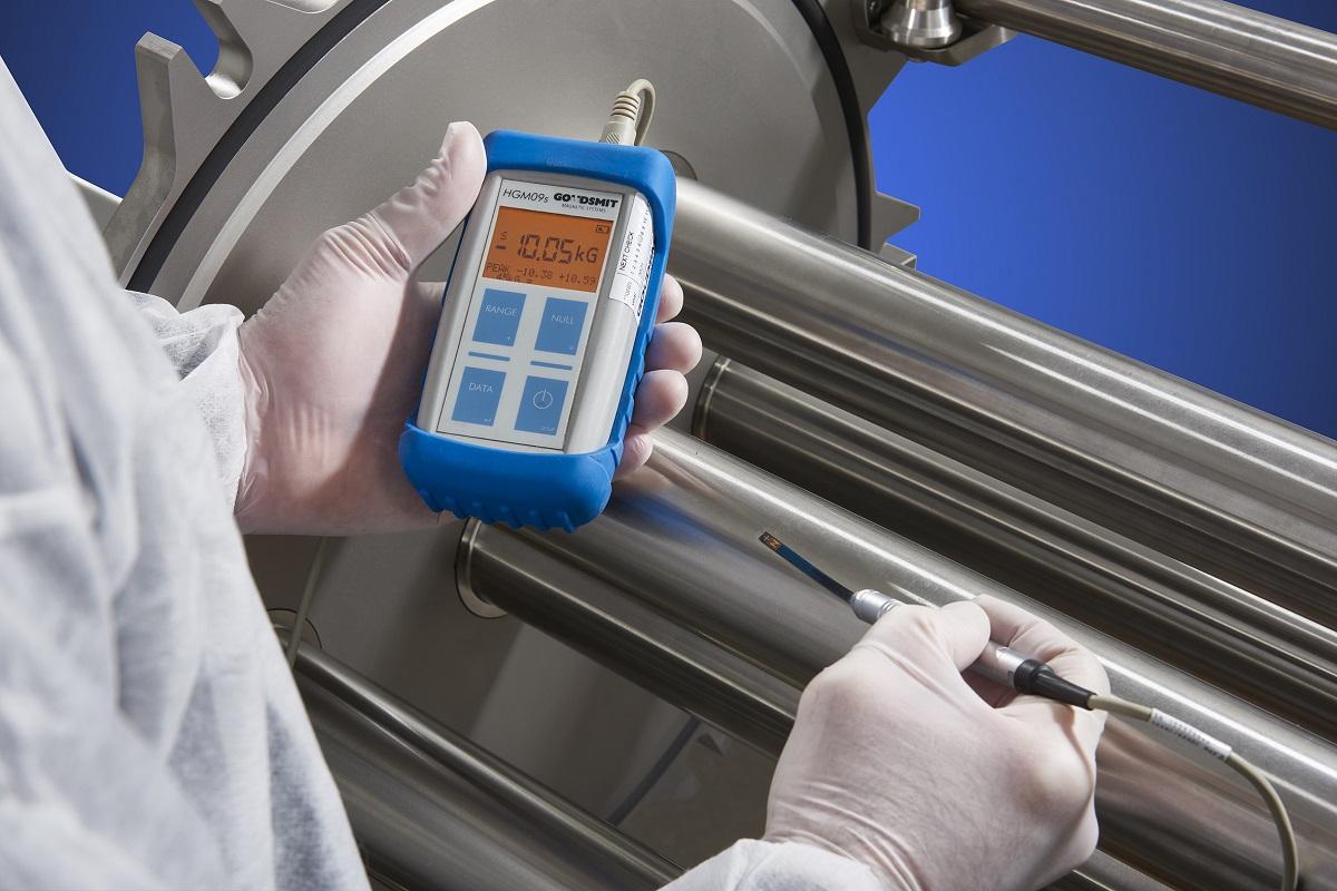 Magnet inspection measurement | Goudsmit Magnetics