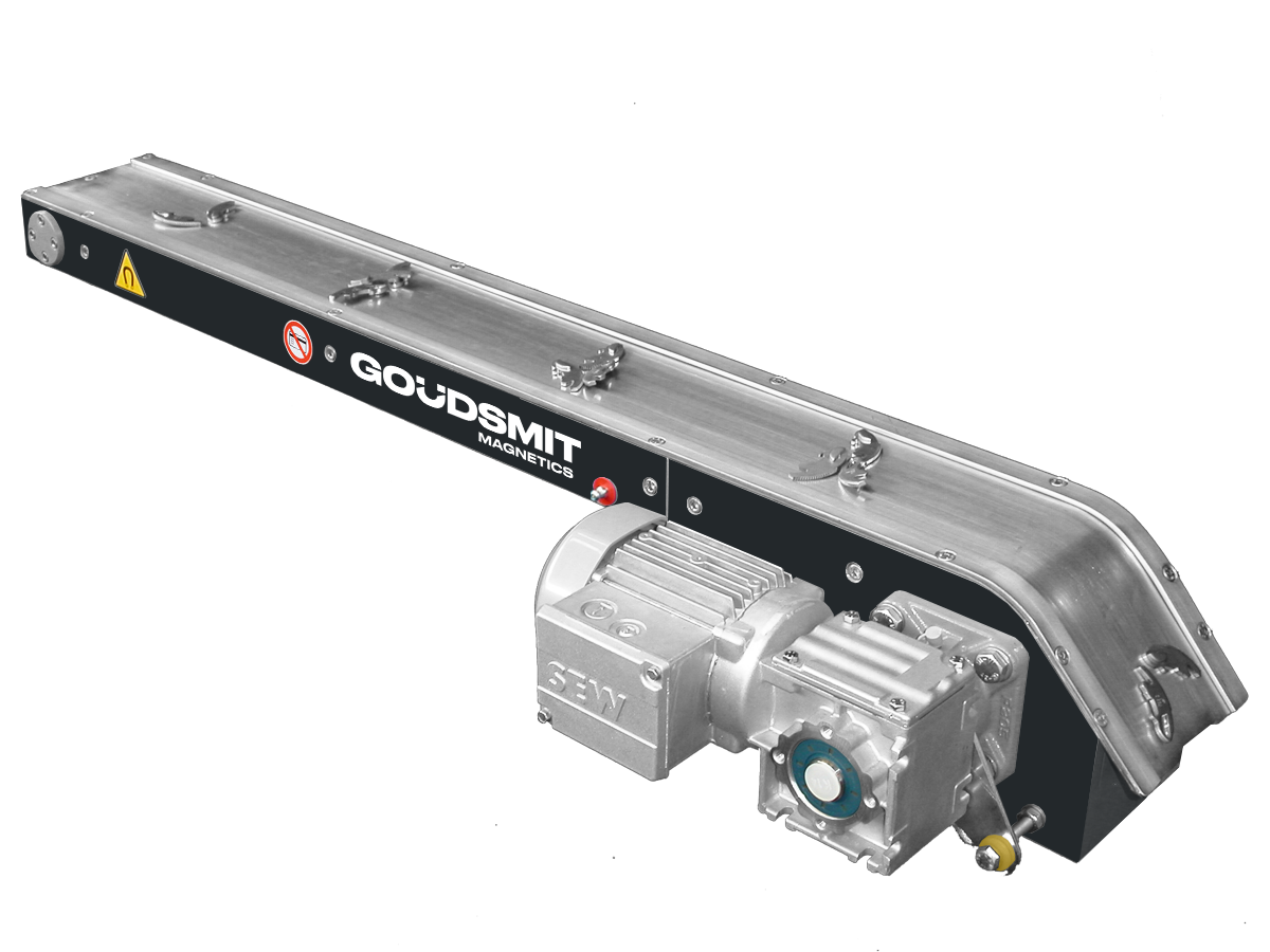 Small magnetic slide conveyor