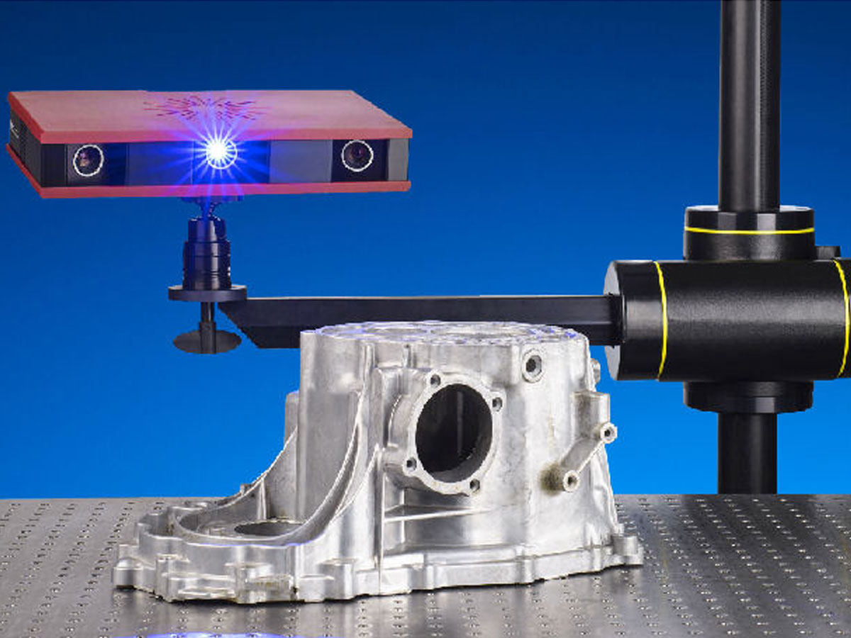 Optical 3D scanner for magnet analyses