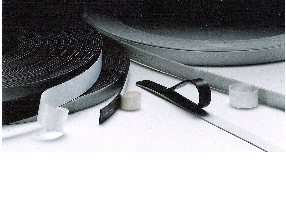 Flexible magnetic extrusion tape