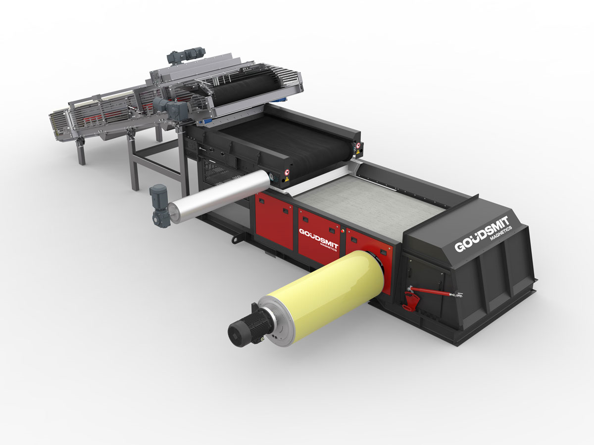 Eddy Current separator | Goudsmit Magnetics